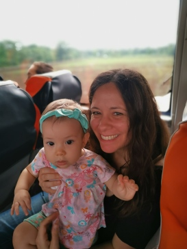 Bus ride to the orphanage